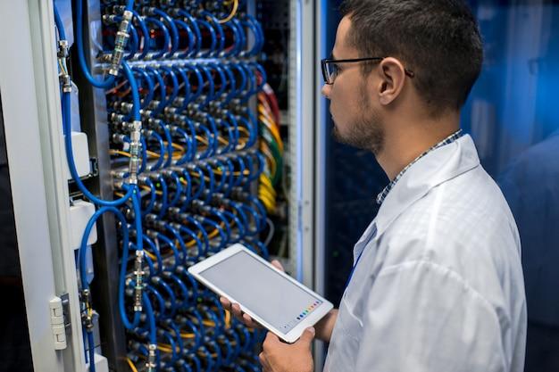 Specjalista it praca z superkomputerem