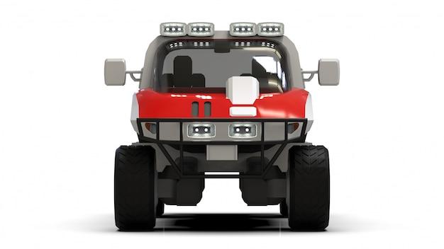 Specjalny pojazd terenowy na trudny teren oraz trudne warunki drogowe i pogodowe