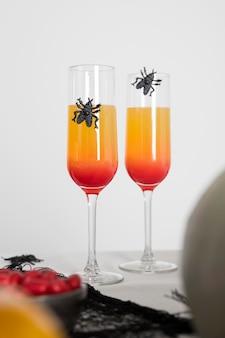 Specyficzne napoje na halloween