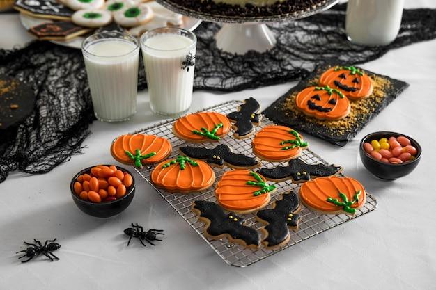 Specyficzne smakołyki w kształcie dyni na imprezę