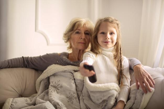 Spędzanie czasu z babcią
