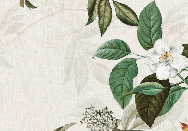 Splot teksturowany różą piżmową