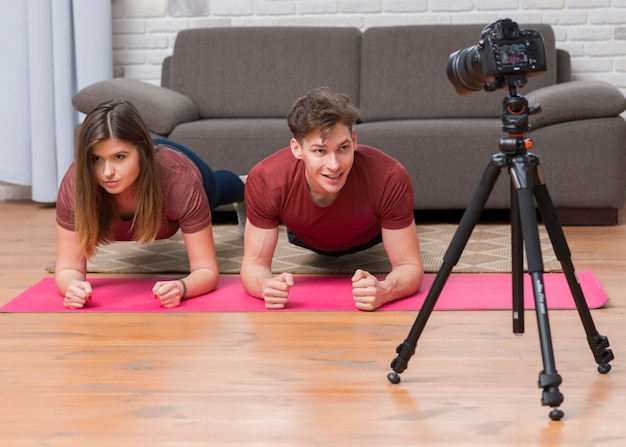 Sport vlogger