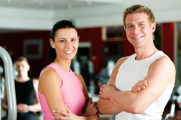 Sportive para w siłowni