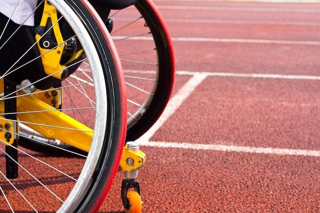 Sportowcy na wózkach