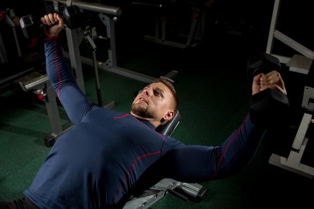 Sportowiec poćwiczyć