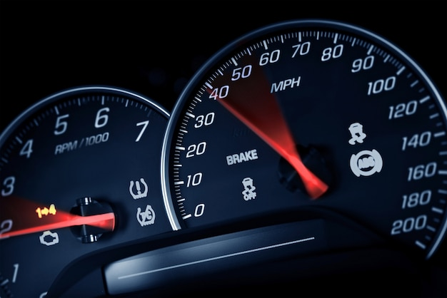 Sportowy prędkościomierz
