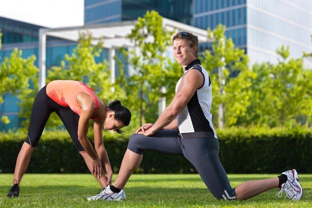 Sporty miejskie - fitness w mieście