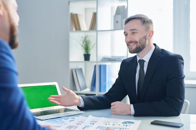 Spotkanie biznesmenów