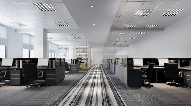 Spotkanie biznesowe i sala do pracy w budynku biurowym