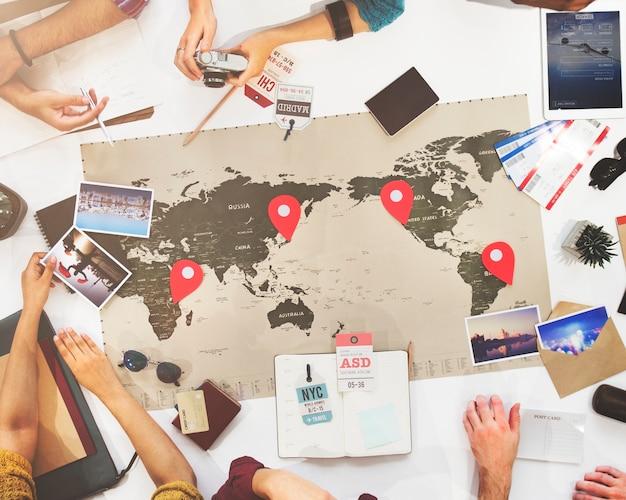 Spotkanie biznesowe spotkanie dyskusja zespół koncepcja