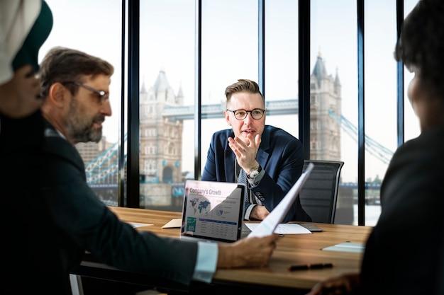 Spotkanie biznesowe w londynie