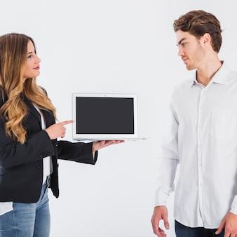 Spotkanie biznesowe z technologią