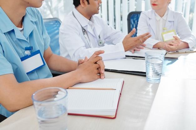 Spotkanie pracowników szpitala