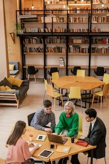 Spotkanie zespołu dla startupów