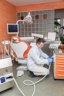 Sprzątanie gabinetu dentystycznego