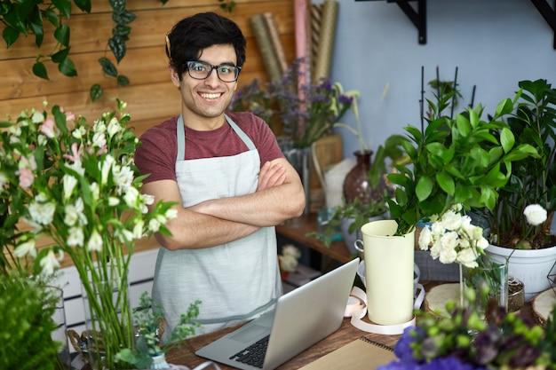 Sprzedawca kwiatów