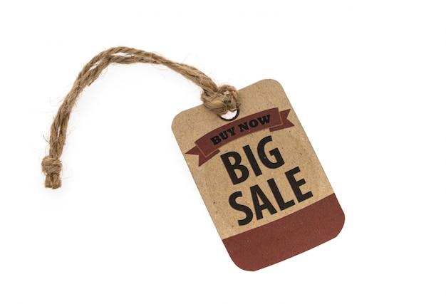 Sprzedaż kupon, kupon, tag. zabytkowy styl