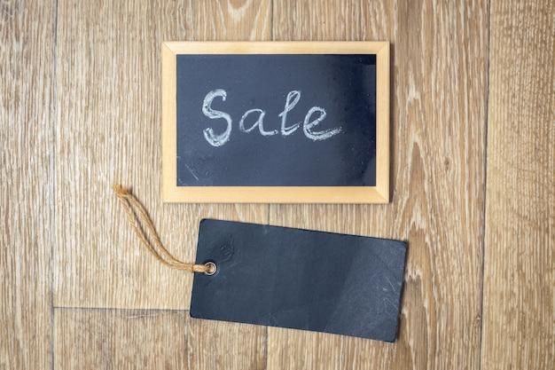 Sprzedaż tekstu na tablicy