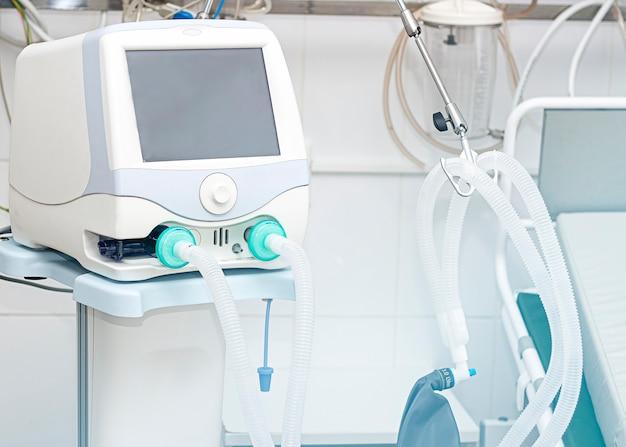 Sprzęt do wentylacji mechanicznej diagnozowanie zapalenia płuc wentylacja płuc tlenem covid19 i identyfikacja koronawirusa pandemia