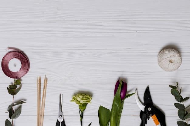 Sprzęt i rośliny do kwiaciarstwa