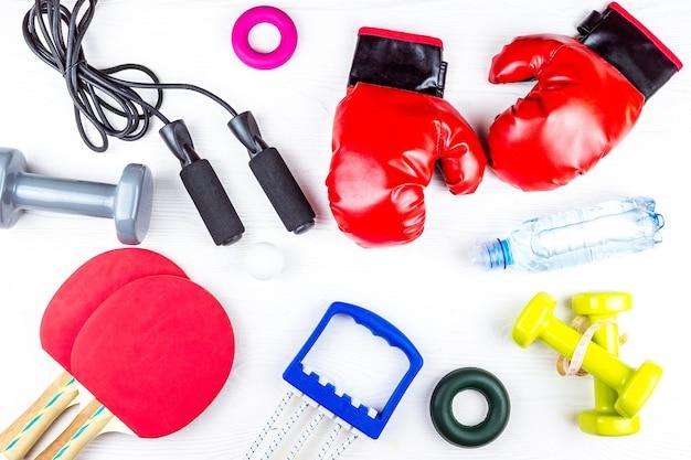 Sprzęt sportowy do ćwiczeń