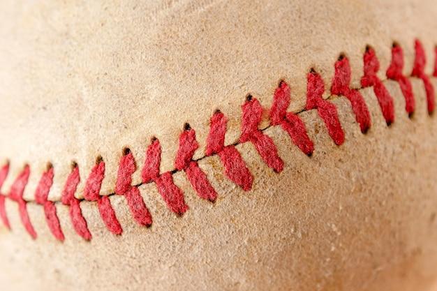 Sprzęt sportowy stara tekstura tło baseball