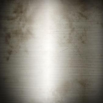 Srebna stara szczotkowana metalu tła tekstura