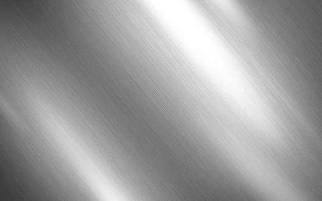 Srebrna metalowa tekstura