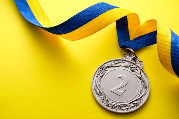 Srebrny medal na drugim miejscu wicemistrzowi