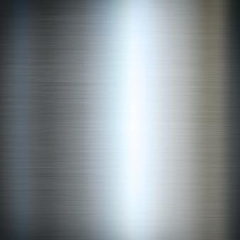 Srebro szczotkująca metalu tła tekstura