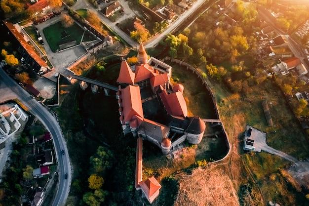 Średniowieczny zamek hunedoara