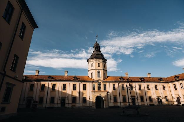 Średniowieczny zamek w nieświeżu, obwód miński, belarus.nesvizh castle.