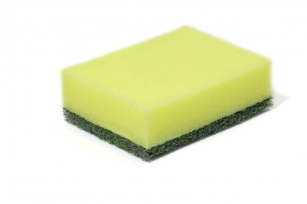 Środki do czyszczenia wełny z zielonych włókien nylonowych, detergenty, gąbki do czyszczenia w domu do czyszczenia