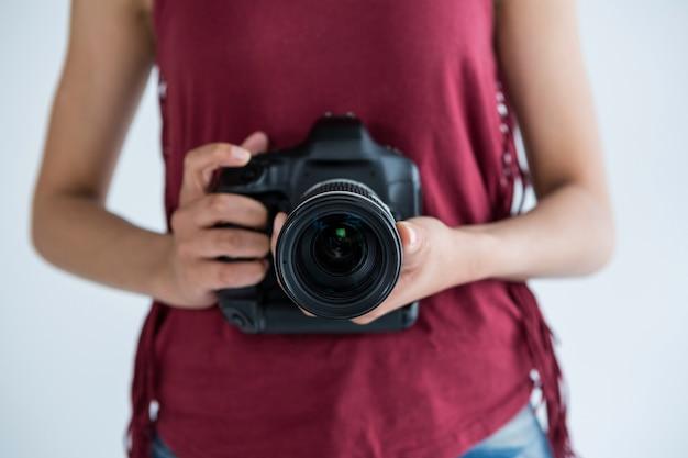 Środkowa sekcja fotografki