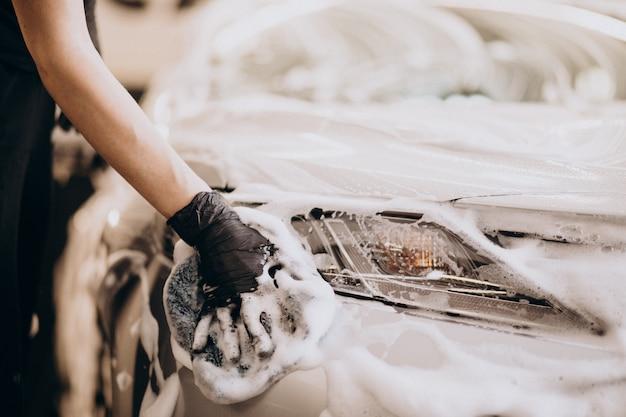 Stacja do mycia samochodów