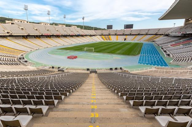 Stadion olimpijski w barcelonie, hiszpania