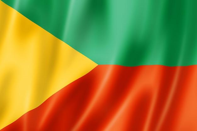 Stan zabajkalski - kraj - flaga, rosja macha kolekcja transparentu. ilustracja 3d