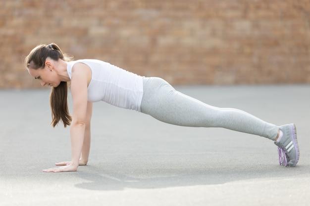 Stanowisko jogi plank