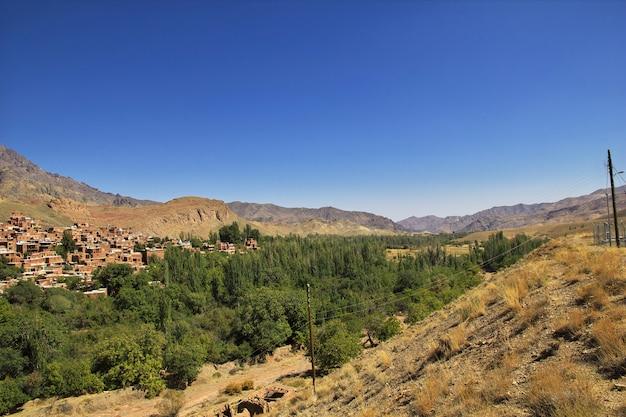 Stara abyaneh wieś w iranie