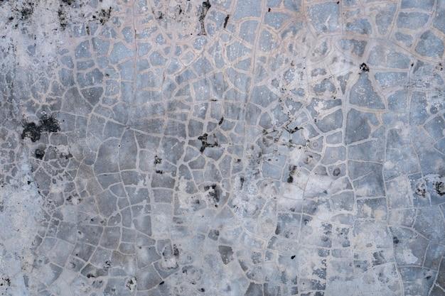 Stara betonowa podłoga.