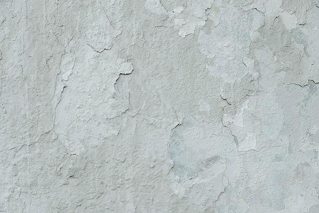 Stara biała krakingowa malująca ścienna tło tekstura