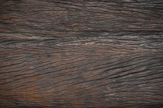 Stara brązowa drewniana tekstura. poziome tło