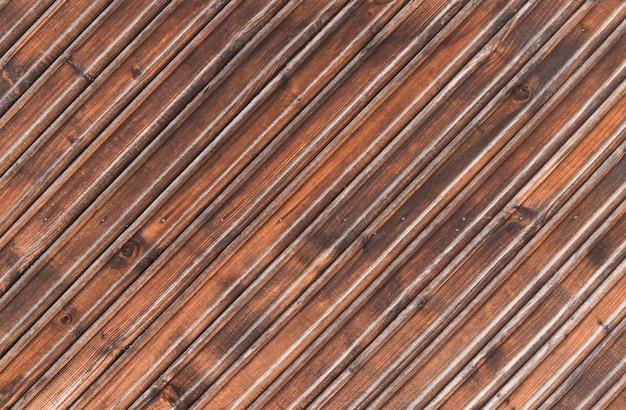 Stara brown drewnianych desek tła tekstura, stary obieranie drewniany ogrodzenie dla projektantów.