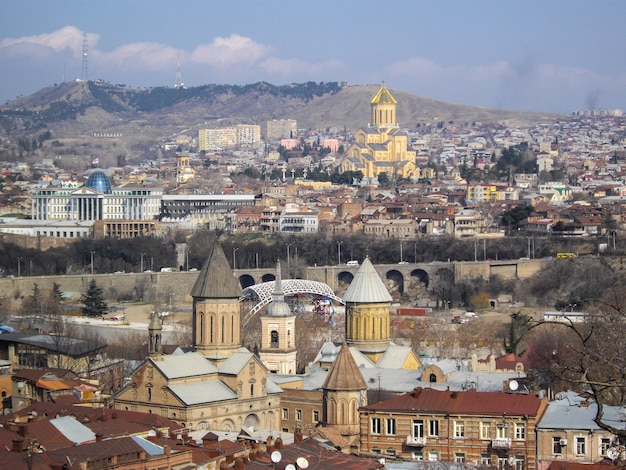 Stara część tbilisi