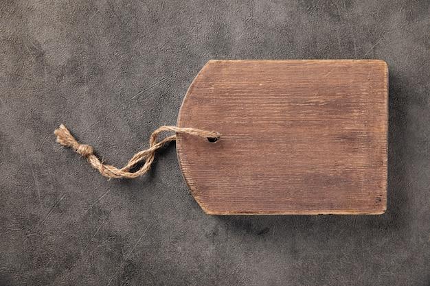 Stara drewniana deska do krojenia w stylu vintage