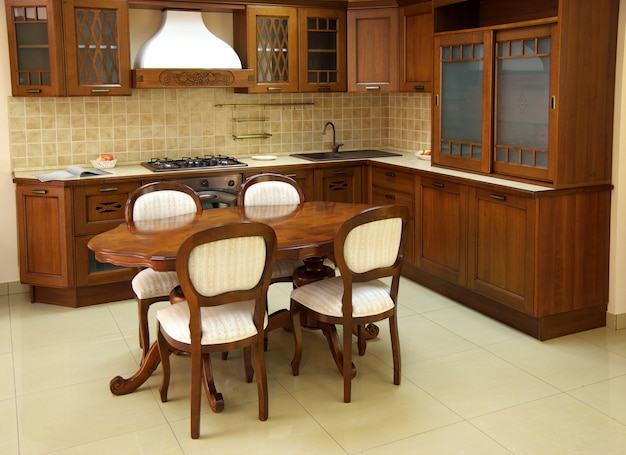 Stara drewniana kuchnia