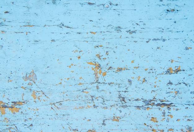 Stara drewniana tekstura z błękitną farbą