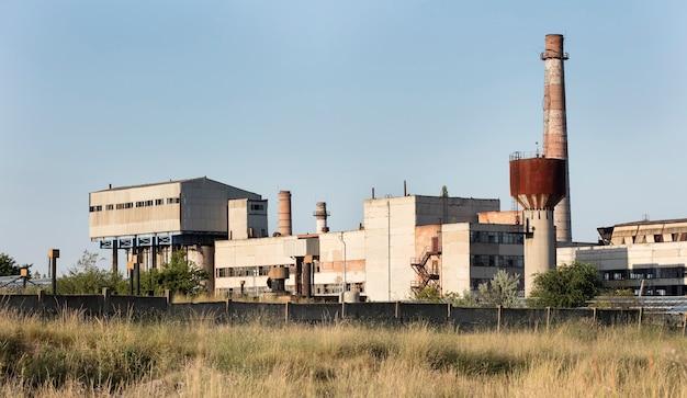 Stara fabryka zsrr na zewnątrz, przemysł