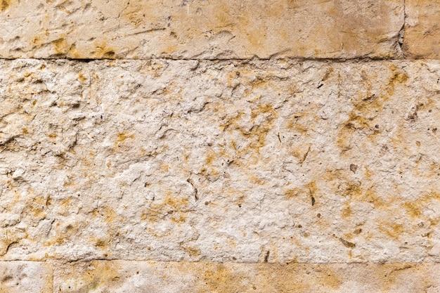 Stara kamienna ściana pomarańczowy